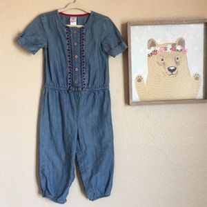 🔥 4/$20 SALE Toddler chambray jumpsuit